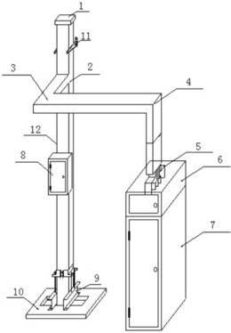 母线槽安装技术实训装置