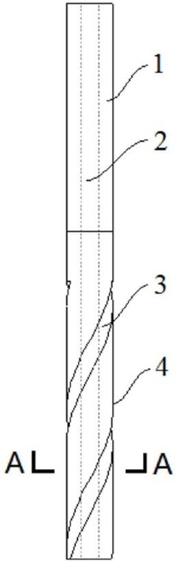一种数控电解加工机床钻孔用阴极