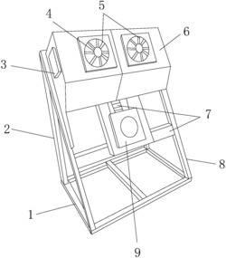 一种双方向悬挂式室内空气净化设备