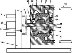 一种复合放料自锁装置及其自锁方法