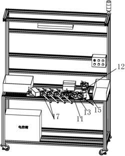 汽车的车门拉索装配线和车门拉索加工方法