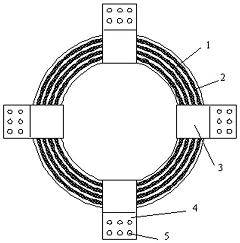 钢铅叠层环形阻尼...