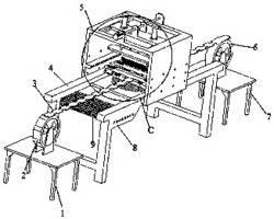洗衣片喷涂-烘干生产一体机
