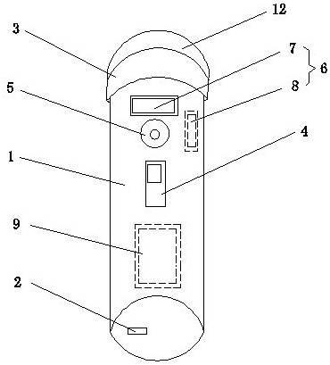 一种LED照明手电筒