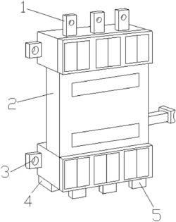 一种插入式断路器用的防氧化插入式底座