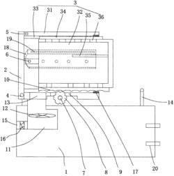 可调位置的电力电气柜结构