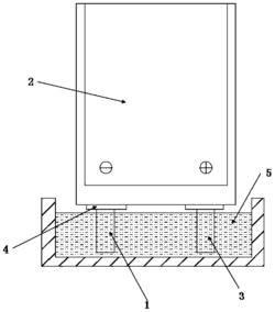 一种软包锂离子电池及该电池负极耳电镀镀层的方法