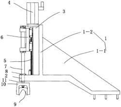 磨削曲轴用拨叉分度控制结构