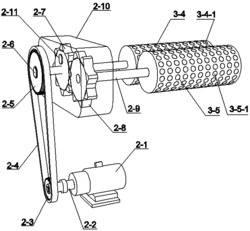 一种背压式减容成型设备及其操作方法