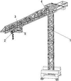 一种能够提高除尘效果的建筑工地用塔吊喷淋装置