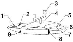 一种新型可遥控驱动游泳设备