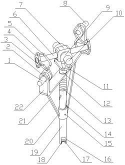 一种水利金属连接管件内螺纹修复装置