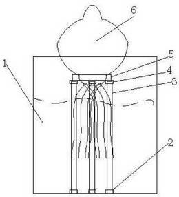 一种风信子水养容器