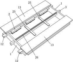 一种用于智能讲台的钢化玻璃组装装置