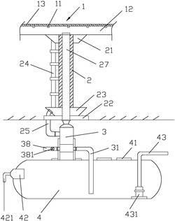 一种立交桥雨水回收系统及其安装方法