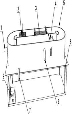一种回转式去除地下水中四氯化碳装置及其工作方法