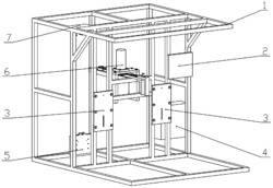 一种折叠式晾衣架和升降式晾衣架的寿命检测装置