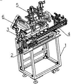 一种自动化马达定子浸锡机