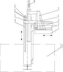 升降式撒料装置