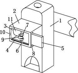 一种喷砂机器人便携式喷头