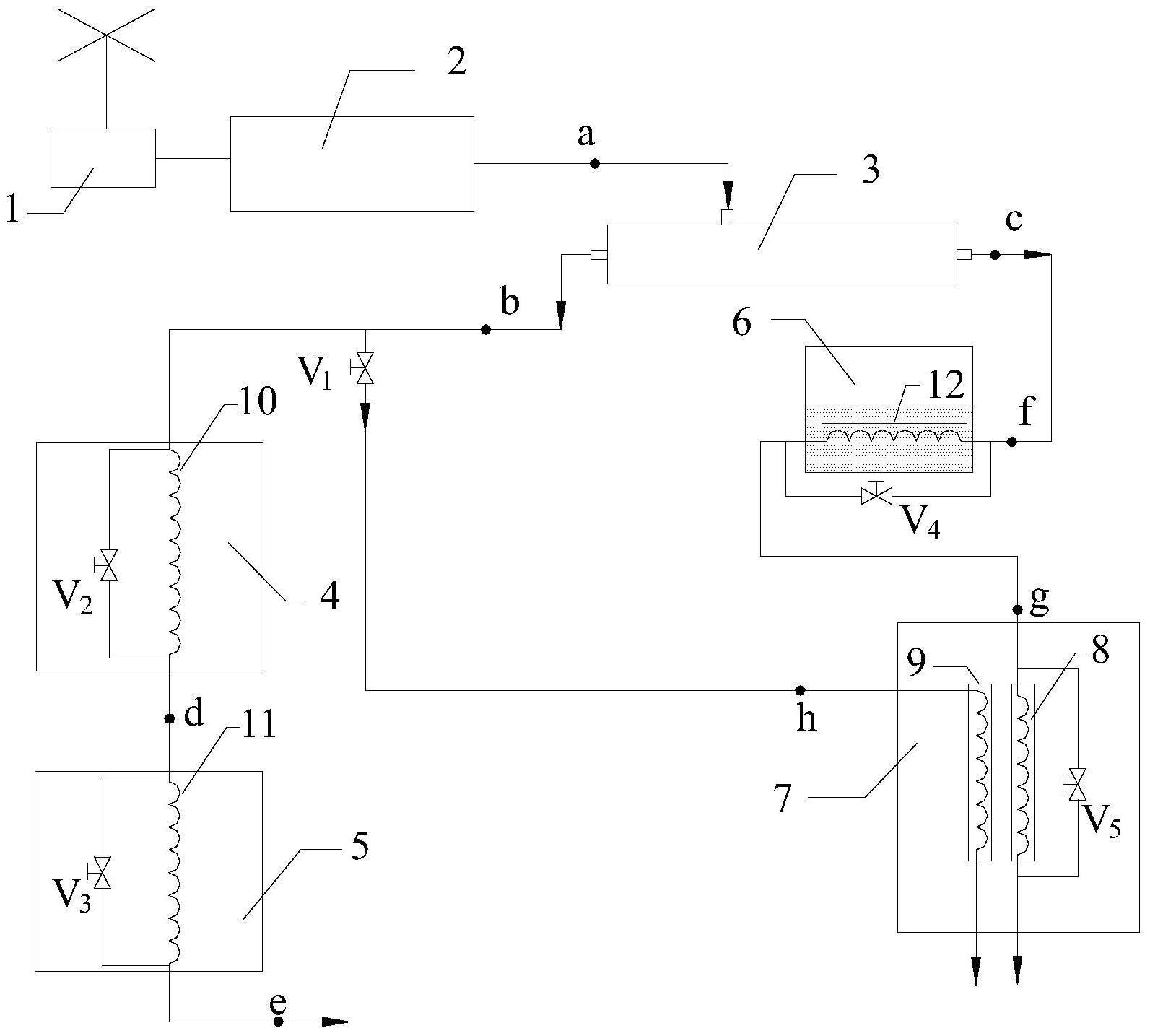 一种风能驱动的涡流管多功能制冷空调系统