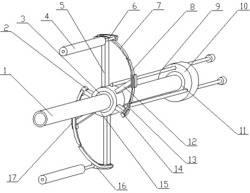 一种建筑螺旋送料机螺旋叶片清理装置