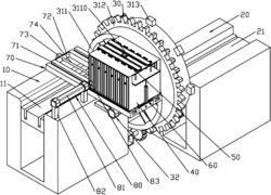 一种具有储板箱的光伏太阳能硅板翻板机