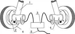 一种无人机滑跑侧偏检测方法与装置