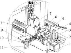 一种套接空心铜管的高频感应激光复合焊接方法及装置