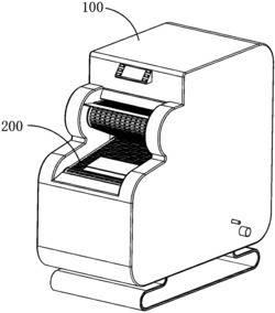 多功能线形压合输送式洗衣机