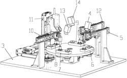 转盘式激光焊接自...