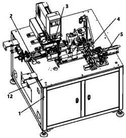 一种SMD产品移印喷码自动化设备