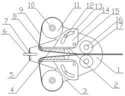 一种施工封堵用密封胶垫芯材嵌入装置及其方法