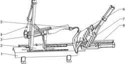 一种自动化操控的轮胎气囊拆卸机