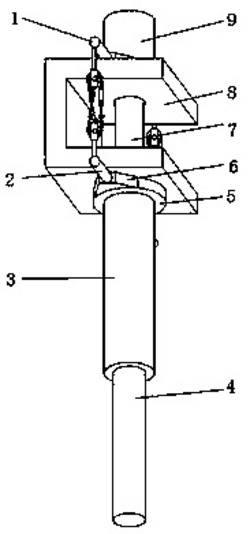 一种大型矿用液压支架销轴拆卸装置
