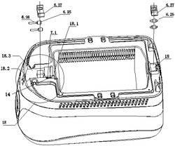 一种转动容器的定位装置