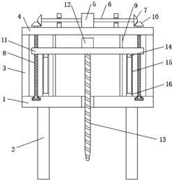 一种地基建设用高稳定型钻孔装置