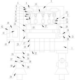 一种微型用于建筑工地的水制冷装置