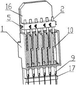 一种操作简单的琴弦测力装置的工作方法