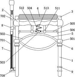 一种狭窄空间夹取且可侧面控制的防烫夹碗装置