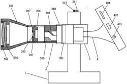 一种基于嵌入式的建筑物表面裂缝检测装置