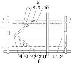 一种汽车玻璃原片切割划线装置