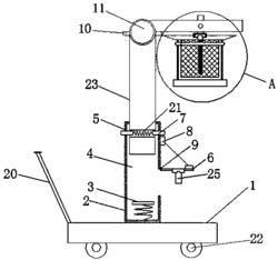 一种用于农业生产的灭虫装置