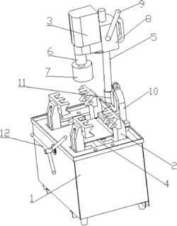 一种钻孔坡口一体机