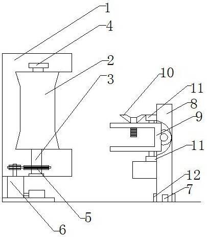 一种浴柜柜板加工用调角磨边机