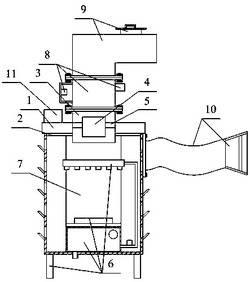 一种高效率的防雾霾空气过滤设备