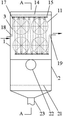 滑道式膜烘干装置