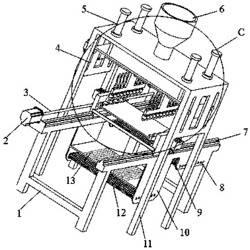 洗衣片双向喷涂-双面烘干生产装置