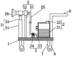 一种可调节角度的农业喷水设备