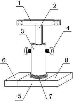 一种具有旋转功能的计算机支架